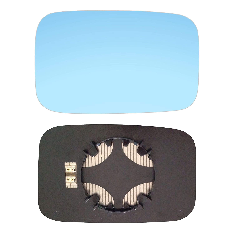 #AM-OLFA92-RCBH Miroir droit avec plaque et chauffage Bleu