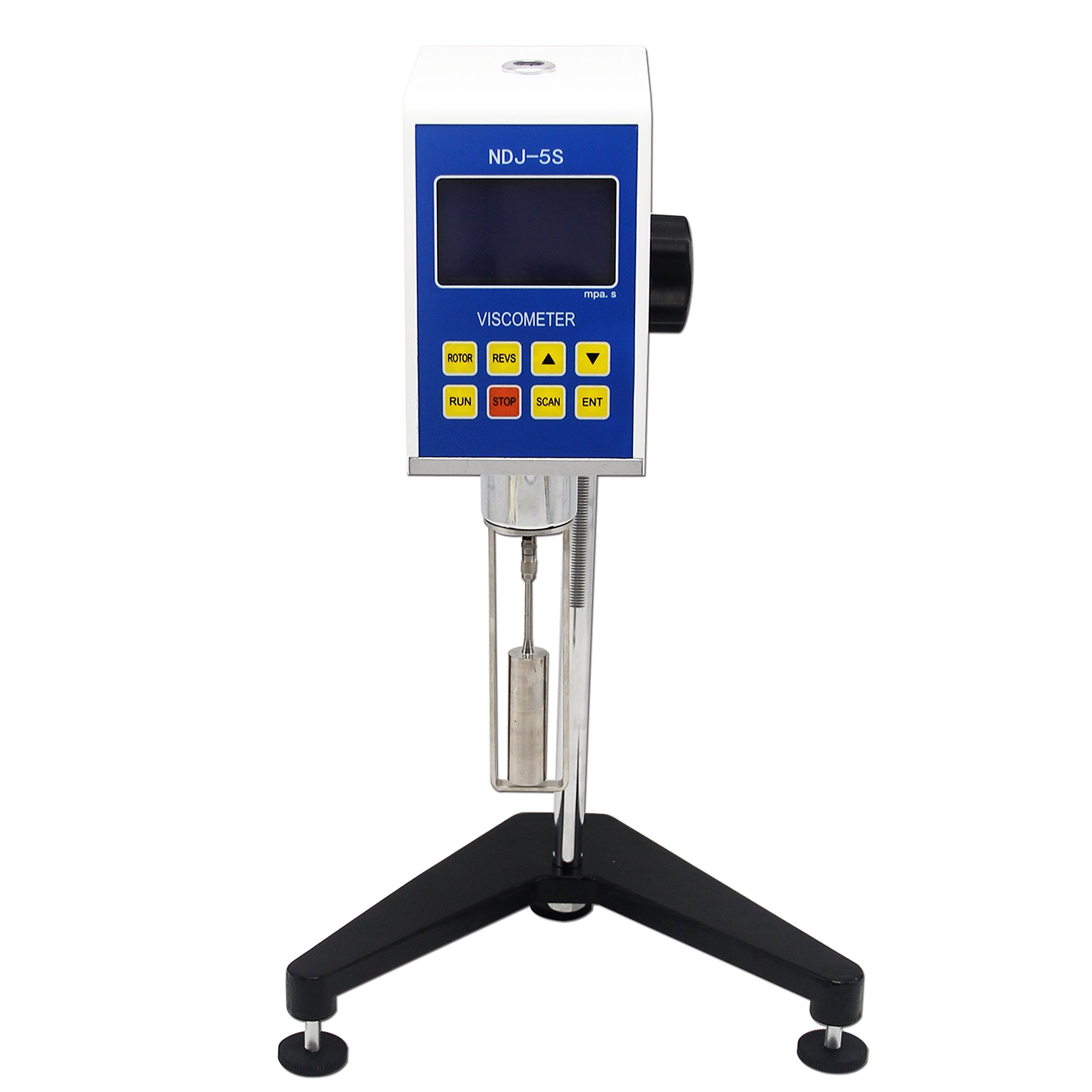 CGOLDENWALL NDJ-5S Digital Rotational Viscosity Meter Viscometer Rotary visometer 110V/220V 1~100,000mPa.s Accuracy:+-3.0% Reliable Quality by CGOLDENWALL