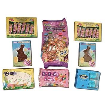 Amazoncom Easter Gift Assortment Sampler With Spongebob Krabby