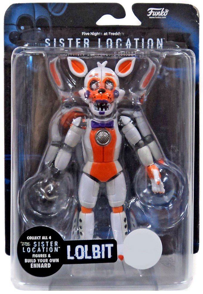 FIVE NIGHTS AT FREDDY'S Funko Action Figure: FNAF: Sister Location: Lolbit (Exc)