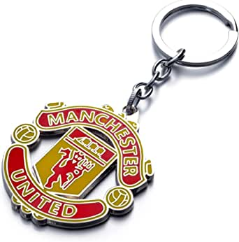 NEVER LOSE YOUR KEYS AGAIN WITH THIS GREAT KEYRING MUFC CREST KEYCHAIN MANCHESTER UNITED FC METAL KEYRING FEATURES MUFC CREST GREAT STOCKING STUFFER FOR ANY MANCHESTER UNITED FC FAN