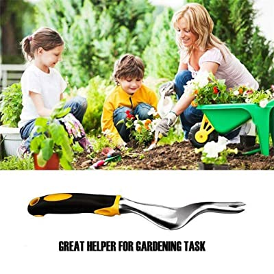 BaoFu Heavy Duty Hand Weeder,Garden Weeding Removal Cutter Tools ,Weeding Sickle,Ergonomically Designed for Digging, Edging,Planting,Garden Hand Tool : Garden & Outdoor