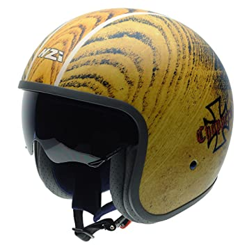 NZI 050287G884 Rolling Sun Graphics Choppers Casco De Moto, Multicolor, Talla 54 (XS