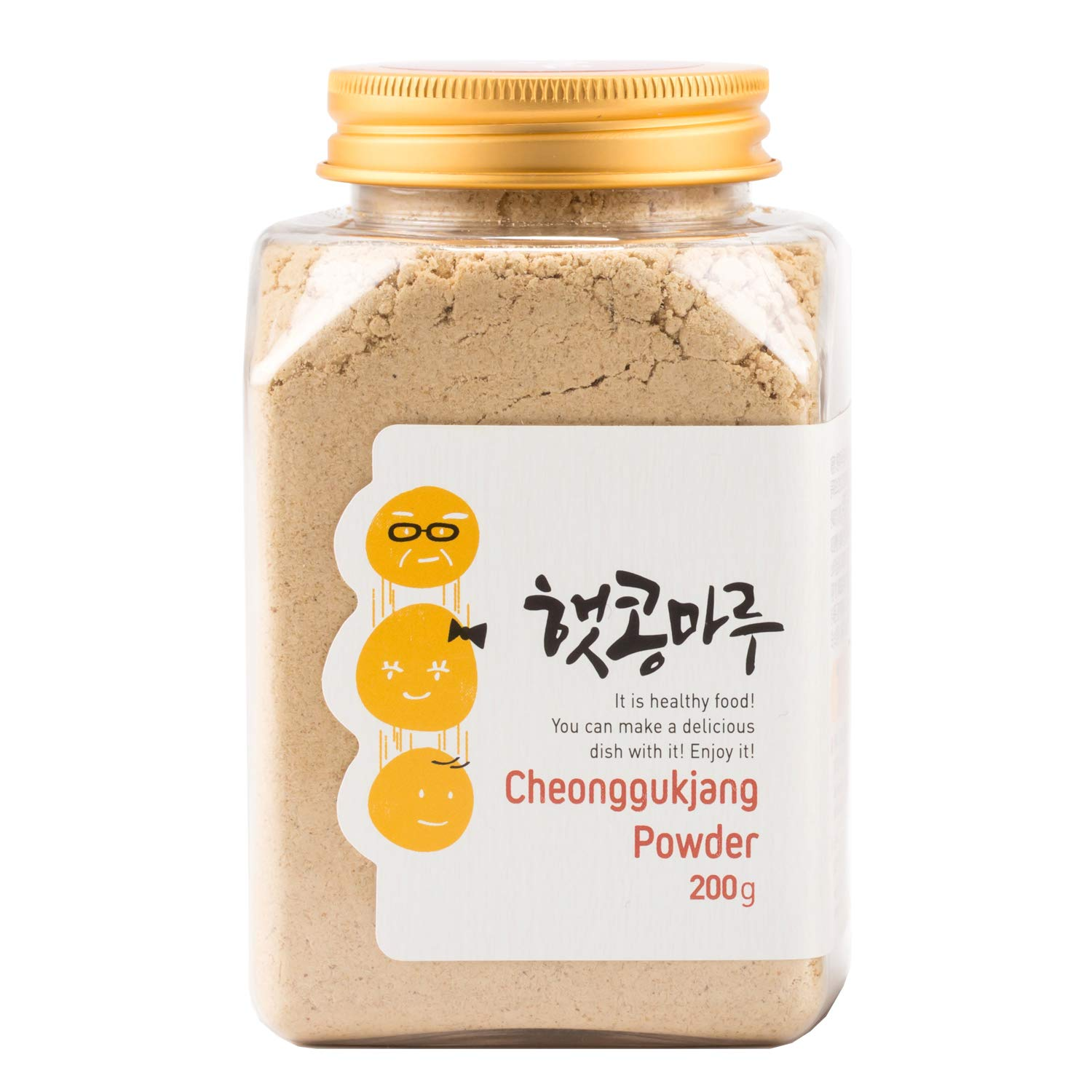 Soybean Natto Powder 100% Natural Nattokinase Poweder l Healthy Fermented Food 200g Cheongukjang Powder