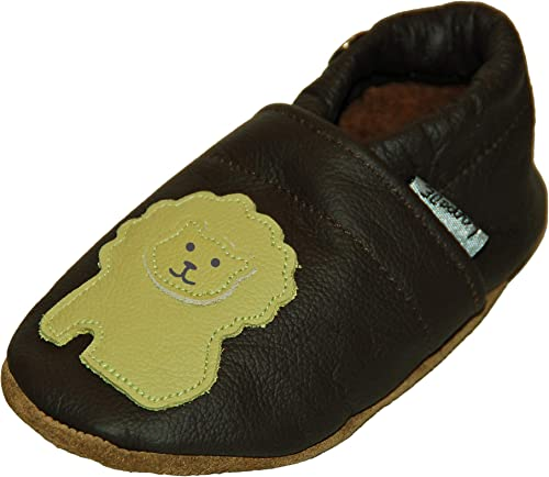 Lappade Leather Slippers Baby Boys