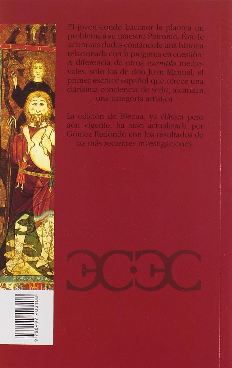 El Conde Lucanor (CLÁSICOS CASTALIA. C/C.): Amazon.es: Don Juan Manuel, Blecua, José Manuel, Gómez Redondo, Fernando: Libros