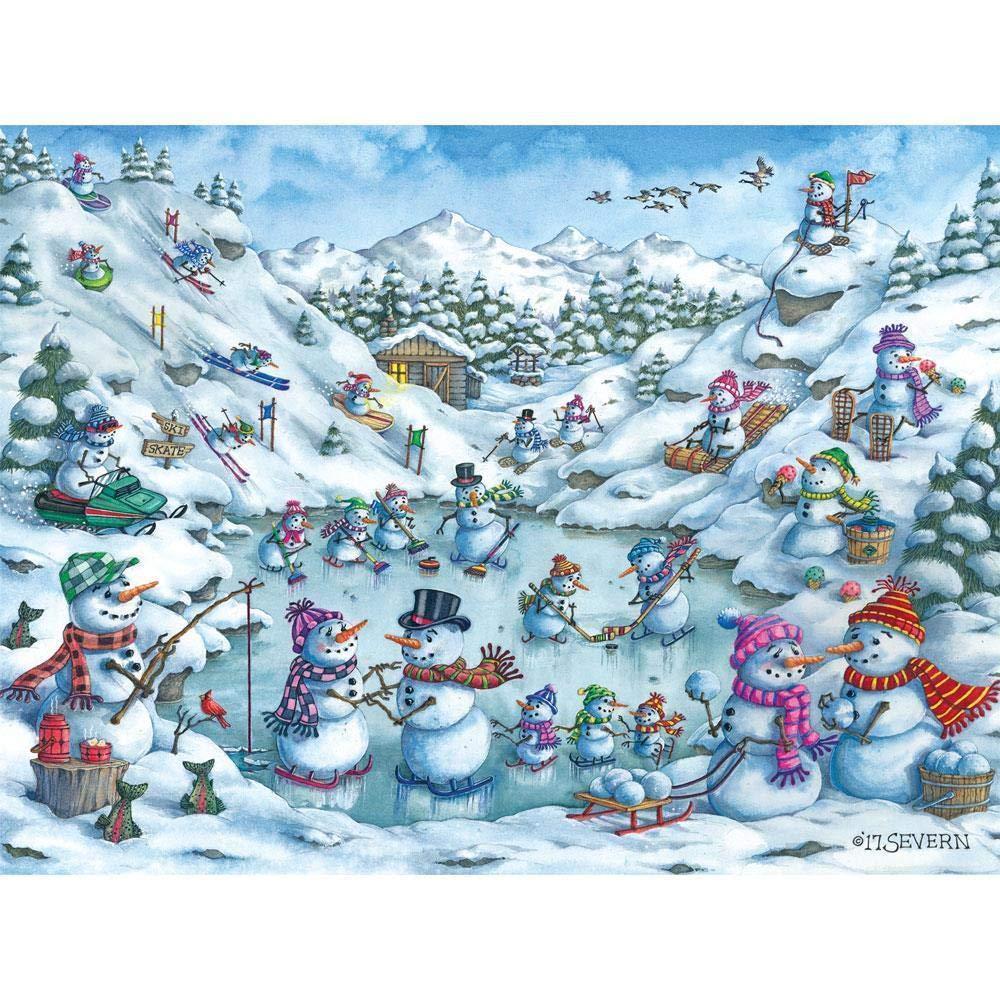 国内最安値! BITS #40041 AND 雪だるま PIECES AND ジグソーパズル 雪山で楽しい500ピース 雪だるま #40041 B07J1YVS57, 朗読社:35ed5028 --- sinefi.org.br