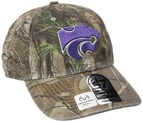 9be2395233cc65 Image Unavailable. Image not available for. Color: '47 NCAA Kansas State  Wildcats Realtree Clean Up Adjustable Hat, One Size ...