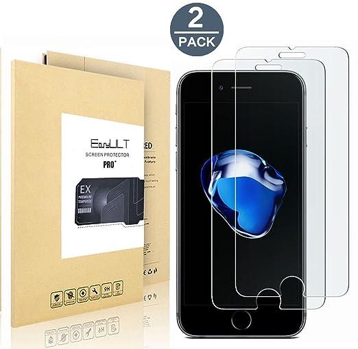 357 opinioni per Pellicola Vetro Temperato iPhone 7/iPhone 8 EasyULT 2 Pack Pellicola Protettiva
