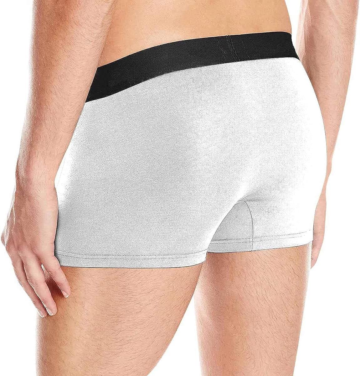 S-XL Custom Men Boxers Funny Face Novelty Underwear Girlfriend or Wife Hug Print Briefs Photo for Men