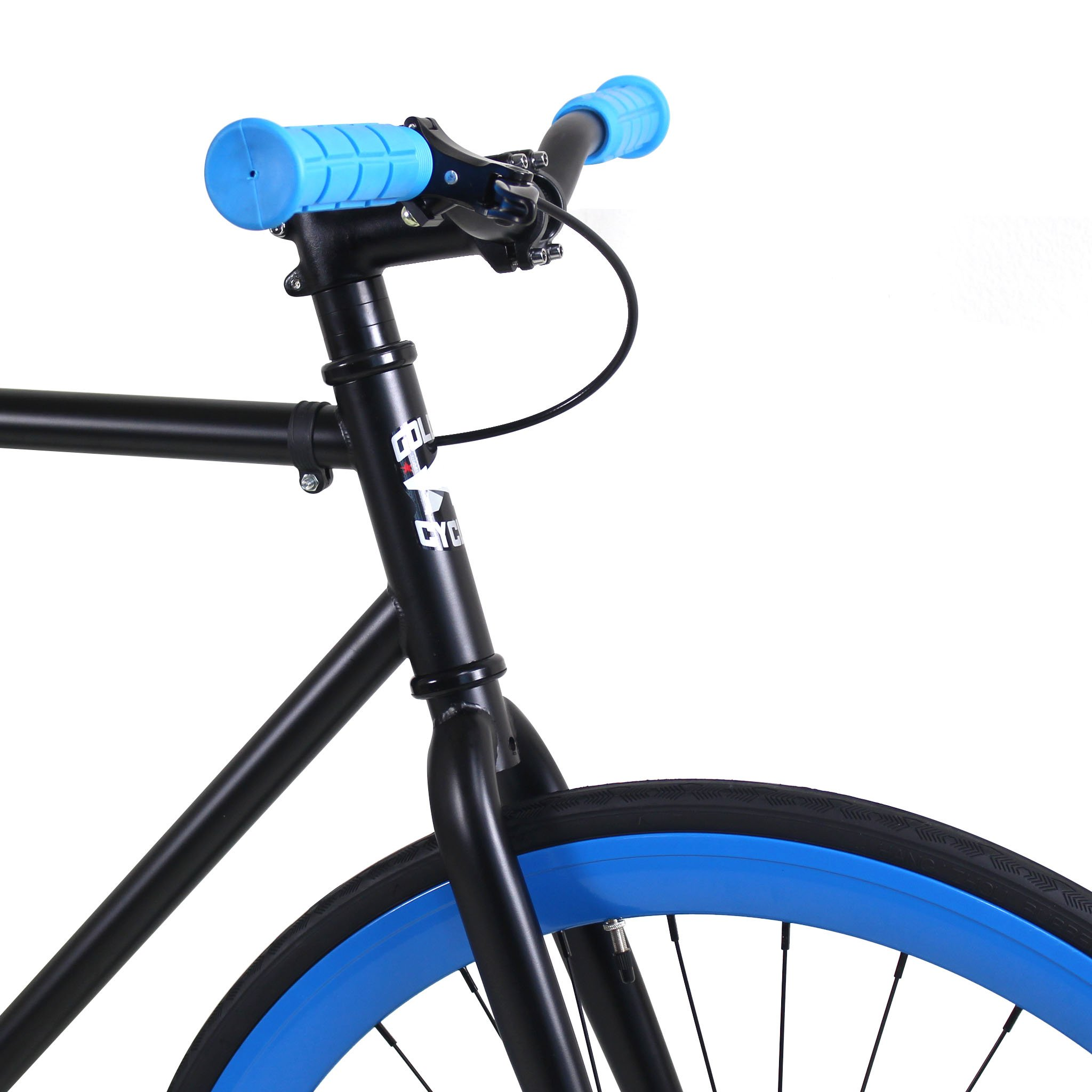 Golden Cycles Fixed Gear Bike Steel Frame Fixie with Deep V Rims-Collection (Magic, 52) by Golden (Image #2)
