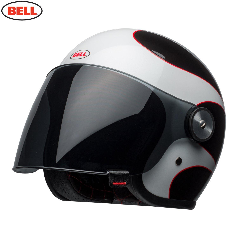 Bell Helm Riot Boost wei/ß//schwarz//rot XXL