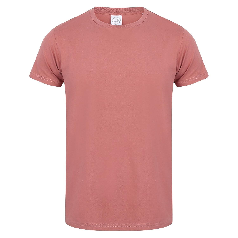 Skinni Fit Men Mens Feel Good Stretch Short Sleeve T-Shirt