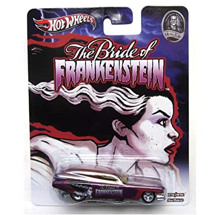 '59 CADILLAC FUNNY CAR THE BRIDE OF FRANKENSTEIN / UNIVERSAL STUDIOS  MONSTERS Hot Wheels 2013 Pop Culture Series 1:64 Scale Die-Cast Vehicle