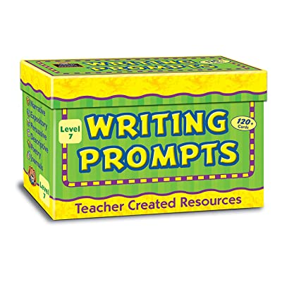 Teacher Created Resources TCR9007 Writing Prompts Card, Grade 7: Industrial & Scientific