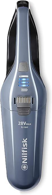 Nilfisk Quick 28V Aspirador de Mano sin Bolsa y sin Cable, Plástico, Azul: Amazon.es: Hogar