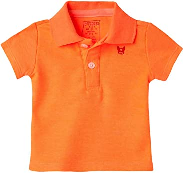 OFFCORSS Baby Boy Newborn Cotton Polo Shirts | Camisetas de Bebe Niño