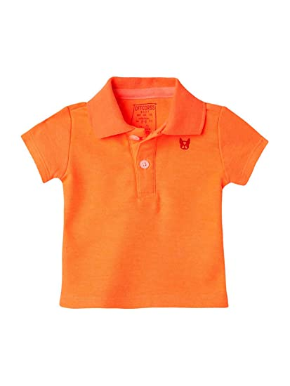 OFFCORSS Baby Boy Newborn Cute Soft Polo T Shirts Style Cool Summer Spring Clothes Neutral Blank