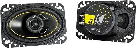 Phoenix Gold Z46CX Z Series Car Speakers 4 x 6 Full Range Audio Component