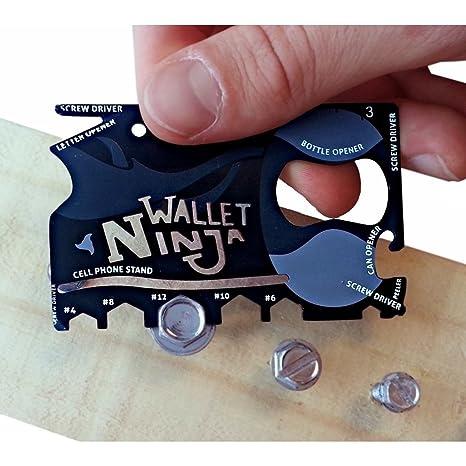 bonzeal Wallet Ninja Camping & senderismo soporte de tamaño ...