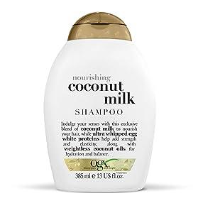 OGX Nourishing + Coconut Milk Shampoo, 13 Ounce