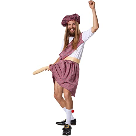 dressforfun 900426 - Disfraz de Hombre Montañés Travieso, Divertido Atuendo con Pene de Imitación (M | No. 302091)