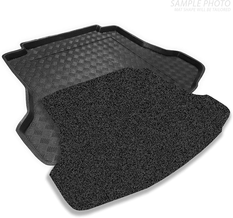 Tailored Boot Liner//Mat//Tray for Passat B5 Estate 09//1997-2005 /& Removable Anti-Slip Anthracite Carpet Insert