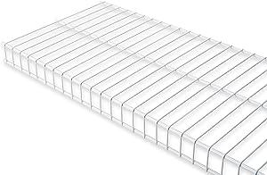"Rubbermaid Linen Wire Shelf, 16"" X 6', White (FG3N3500WHT)"