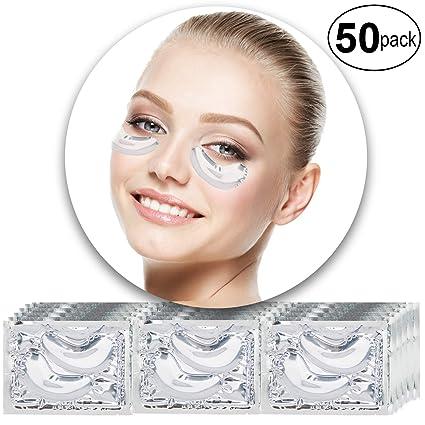 VAGA 50 pares de parches de colageno transparente para ...