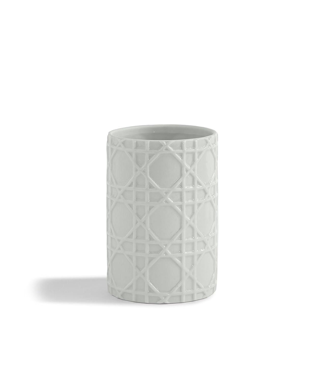 Kassatex ARN-CJ Rattan Cotton Jar Kassatex Fine Linens