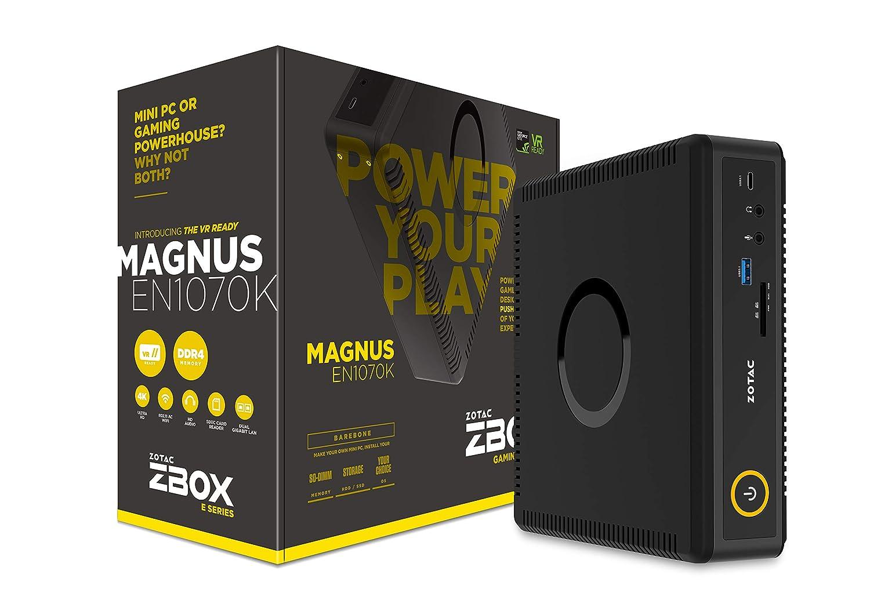 Zotac Magnus En1070K Lga 1151 (Socket H4) 2.7Ghz I5-7500T Negro - Barebón (Lga 1151 (Socket H4), 7ª Generación De Procesadores Intel Core I5, 2,70 GHz, I5-7500T, 14 NM, 3,30 GHz)