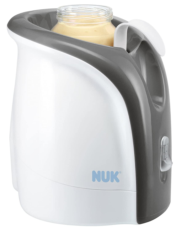 NUK 10256317 Babykostwärmer - Thermo Ultra Rapid - erwärmt Babynahrung schonend ab 2 Minuten - inklusive Auto-Adapterkabel