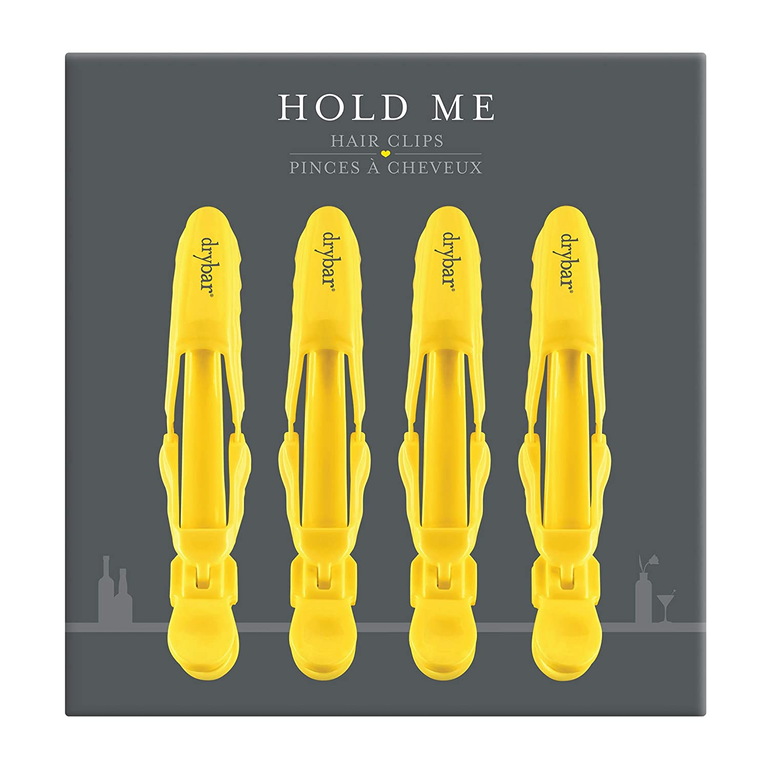 Drybar Hold Me Hair Styling Clips - Set of 4