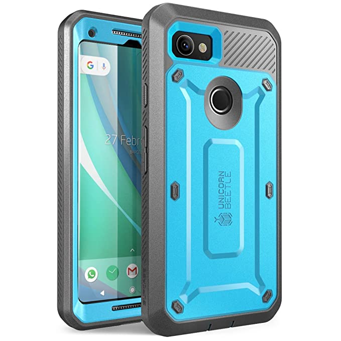 online store 8ffe2 01643 Google Pixel 2 XL Case, SUPCASE Full-Body Rugged Holster Case with Built-in  Screen Protector for Google Pixel 2 XL 2017 Release, Unicorn Beetle PRO ...