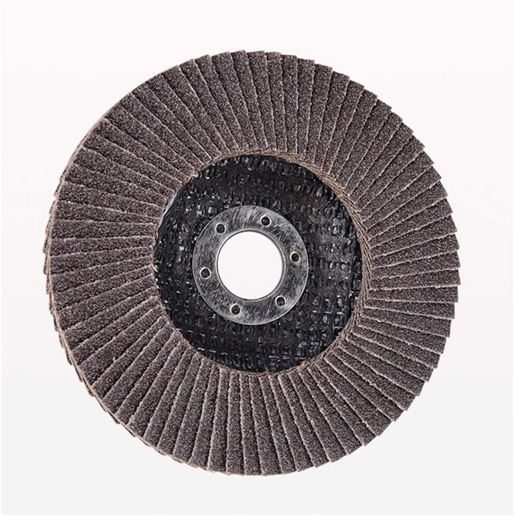 CHENTAOCS Hundred Impeller Grinding Piece Louver Metal Polishing Piece Thickening Grinding Wheel Thousand Blade Size : 80#