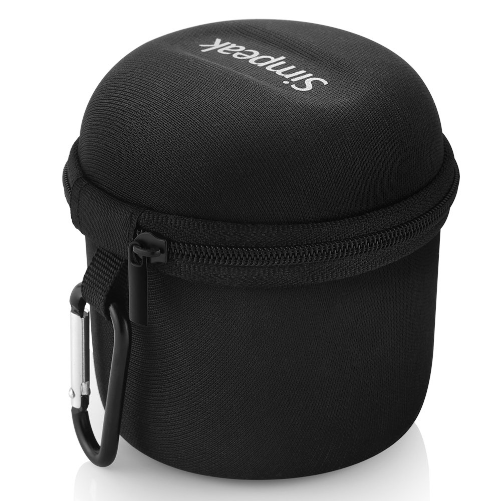 Funda Ultra-Portable Altavoz Bluetooth Caja Caso Viajar para Anker SoundCore,Negro Simpeak Compatible Bolsa Altavoz Bluetooth Port/átiles