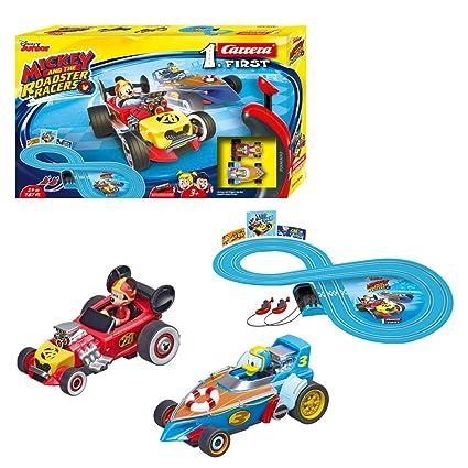 Amazon.com: Disney Mickey Roadstar Racers Carrera First Circuit: Toys & Games