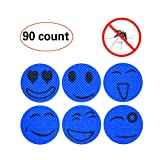 Amazon Price History for:90-Count Mosquito Repellent Patch Keeps Insects and Bugs Far Away, Simply Apply to Skin and Clothes , Adult, Kid and Pet-Friendly