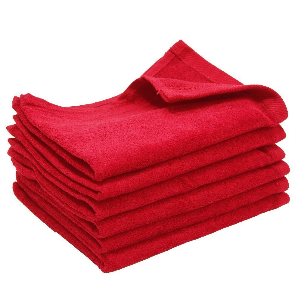Forest Green, 6 Size 11 x 18 SHOPINUSA Budget Deal Multipurpose Hand Towels Wholesale Low Price 100 /% Cotton