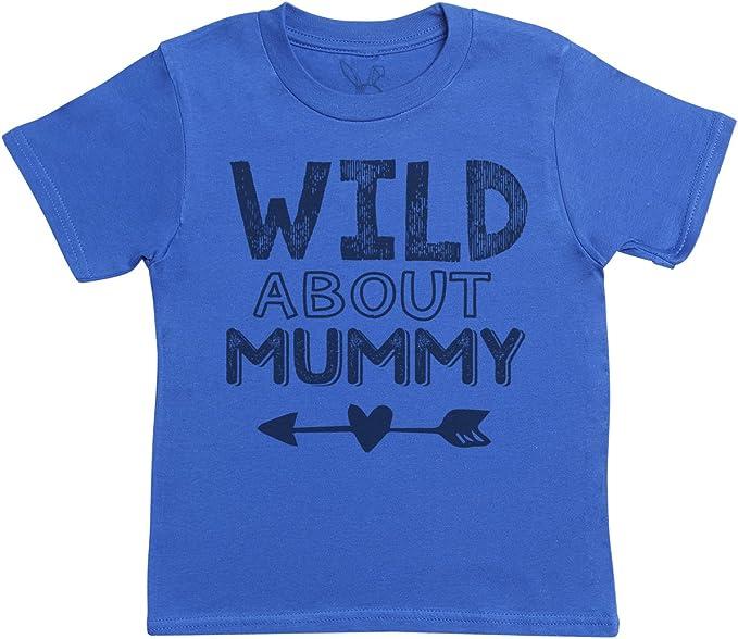 Kids Top Boys T-Shirt Girls T-Shirt Both Wild About Mummy Kids T-Shirt