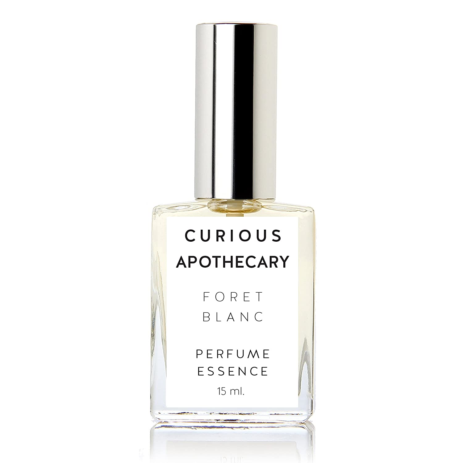 Curious Apothecary Foret Blanc Vanilla Sandalwood perfume for women. Mysore Sandalwood and vanilla fragrance 15 ml.