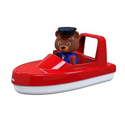 AQUAPLAY Speedboat with Puppet Toy: Toys & Games