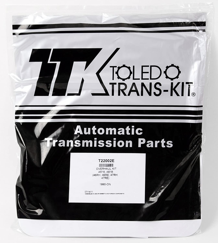 Transmaxx Transmission Rebuild Master Kit With Steels A518 46RE