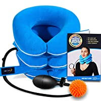 Cervical Neck Traction Device by NeckFix for Instant Neck Pain Relief - Adjustable...