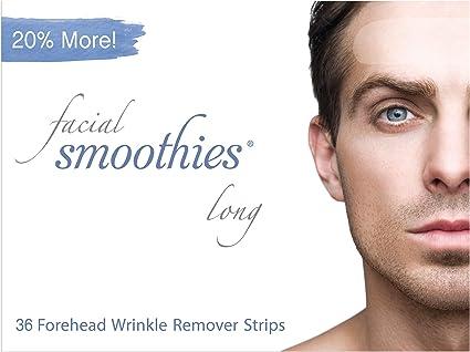 Facial Smoothies Pack parches antiarrugas formato largo: Amazon.es: Belleza