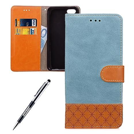 Custodia iPhone SE Cover iPhone 5/5S Custodia Portafoglio JAWSEU