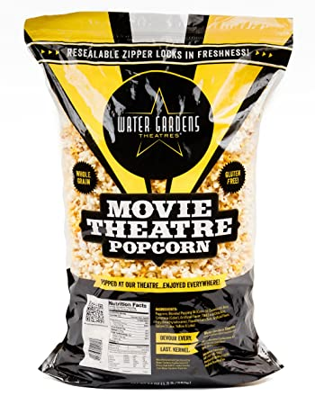 movie theater butter popcorn 66 cups 24 oz party size bag by water gardens theatres - Water Garden Theater