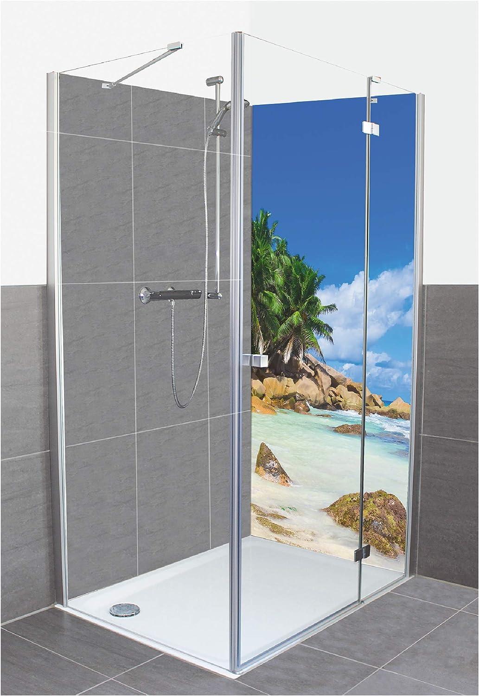 Artland D3JN - Panel de Pared de Aluminio Compuesto para Ducha, diseño con Imagen Vibrant: Amazon.es: Juguetes y juegos