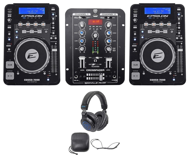 Amazon.com: 2) Epsilon cdusb-7000 mesa DJ scratch CD Digital ...