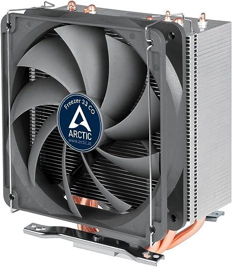 ARCTIC Freezer 33 CO - Enfriador de CPU semi pasivo con ventilador ...
